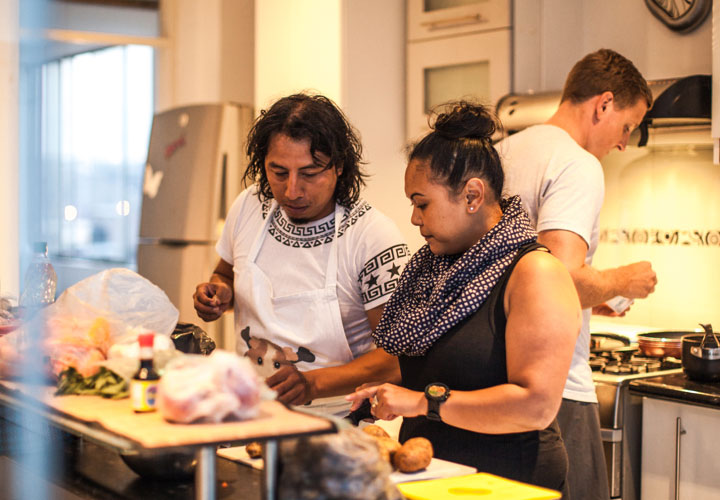 Lear to cook Peruvian food