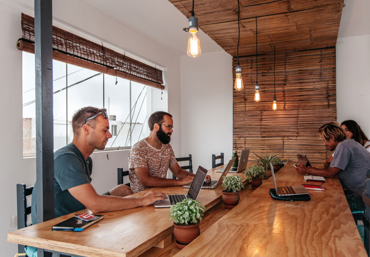 Experience Unleash Surf's Coworking Space