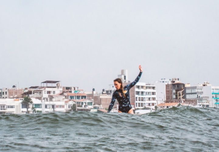 Surf everyday in Huanchaco Peru with Unleash Surf
