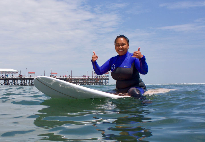 Learning to Surf with Unleash Surf