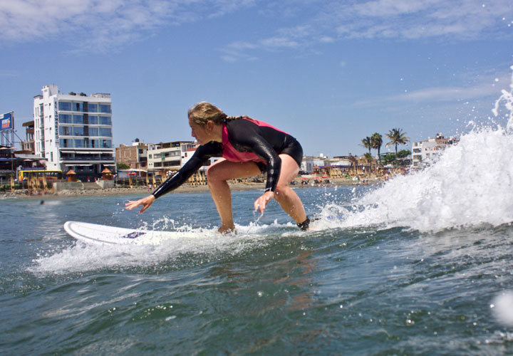 Surfing with Unleash Surf