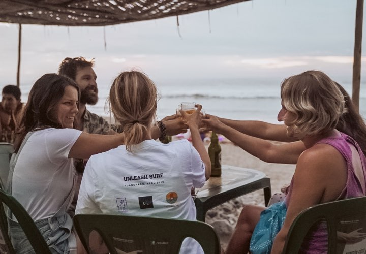 Connection with the Unleash Surf Group