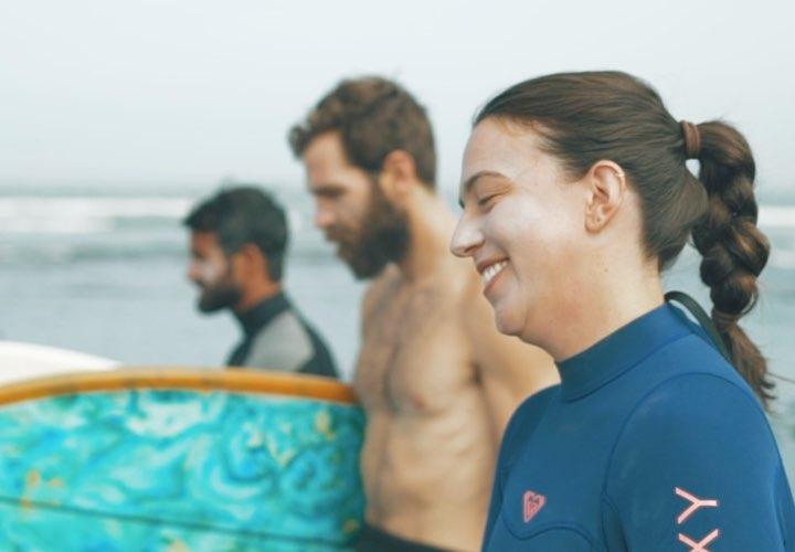 Manuela And Nick's Unleash Surf Experience